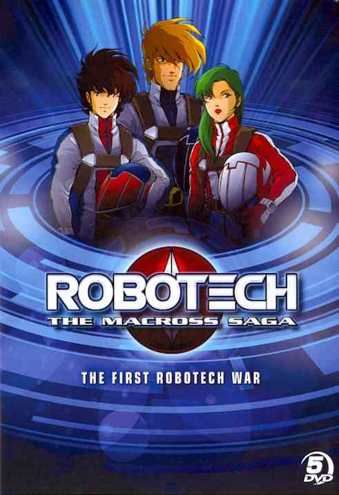ROBOTECH: FIRST ROBOTECH WAR THE MACRO BY ROBOTECH (DVD) [5 DISCS]
